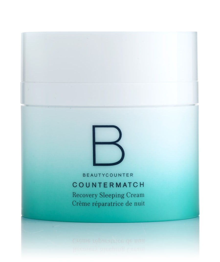 The Beautycounter Countermatch Recovery Sleeping Cream travel product recommended by Jessica Stoeckeler on Pretty Progressive.