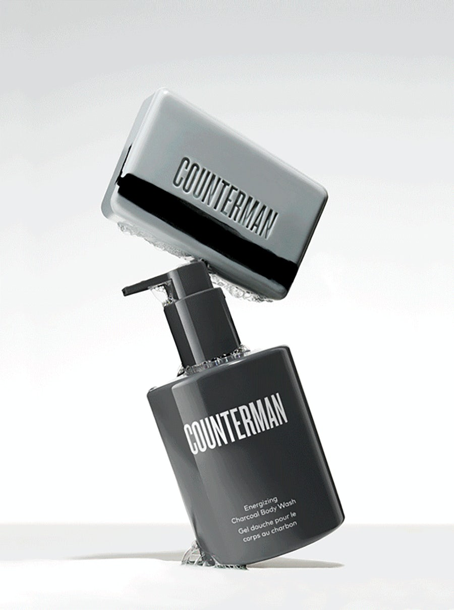 Counterman Energizing Charcoal Body Wash | Bath & Body | Beautycounter