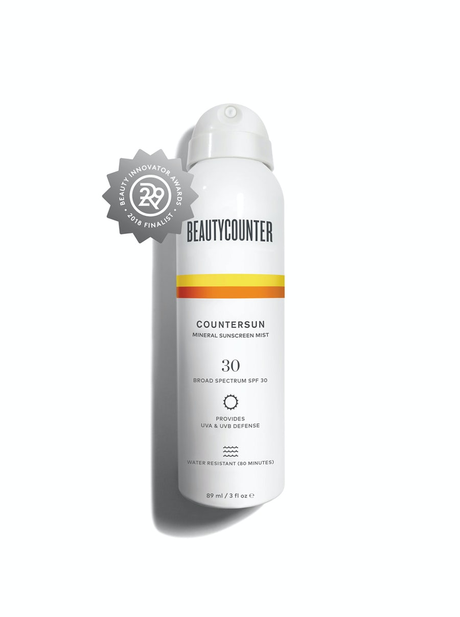 Countersun Mineral Sunscreen Mist SPF 30 Travel Size 3 ounce