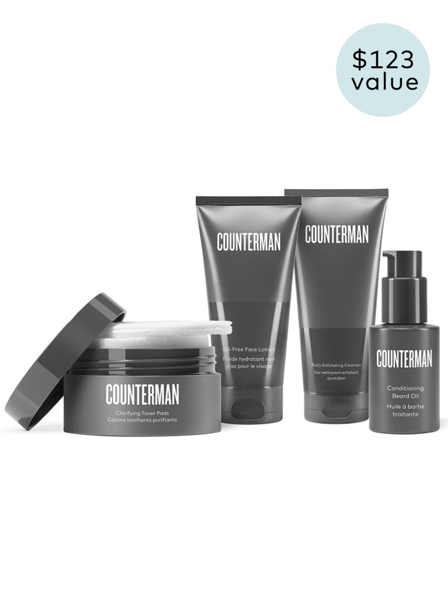 Counterman Beard Regimen