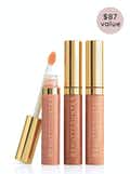 New Nudes Lip Gloss Trio