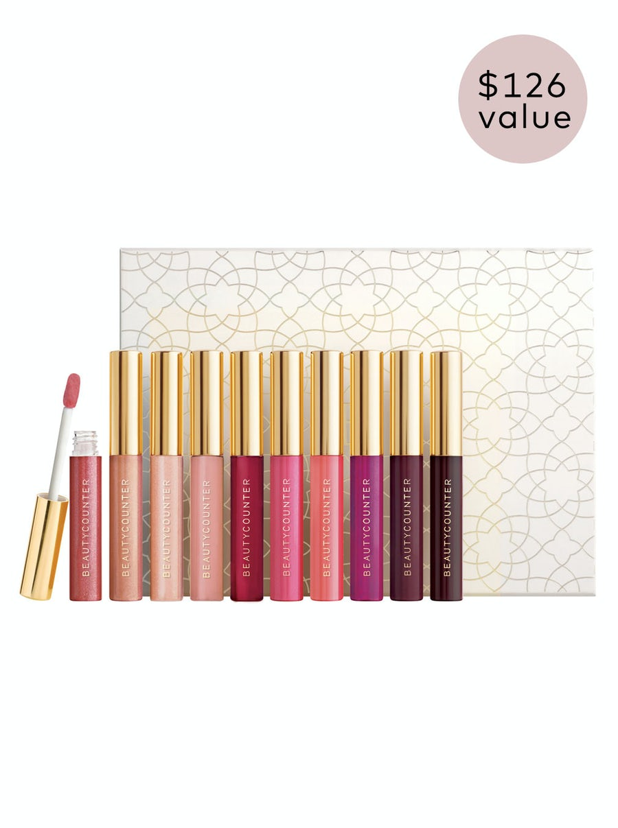 Mini Lip Gloss Vault